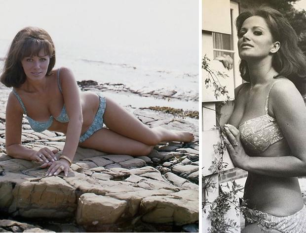 Jackie Collins bikini