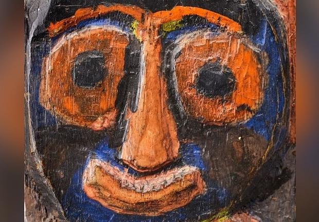 Karel Appel Tussen Kunst en Kitsch paneel