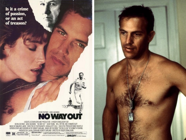 Kevin Costner borsthaar No Way Out