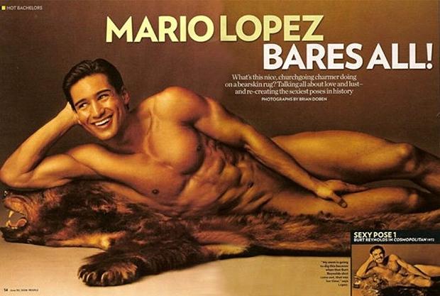 Mario Lopez Cosmopolitan naakt