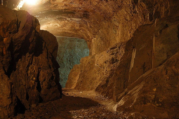 Nazitrein tunnels Polen