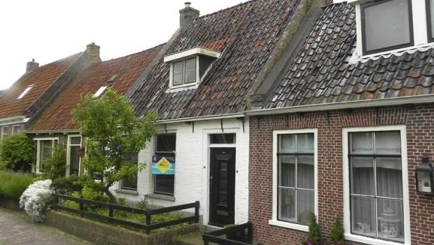 Opknappertje Friesland Holwerd woning banner