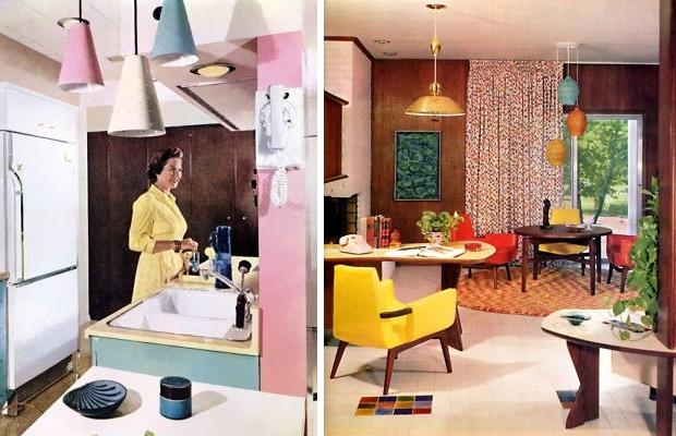 Vintage lampen interieurs