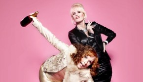 Cheers thanks a lot, de Ab Fab film komt eraan!