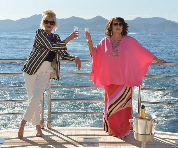 AbFab film Instagram