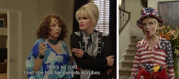 Absolutely Fabulous quotes Bubble