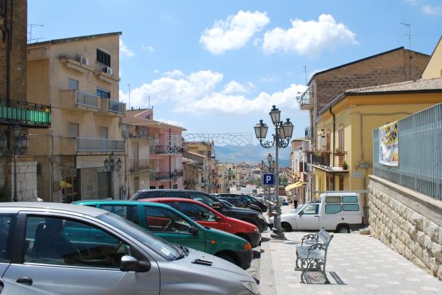 Cianciana stad Italië huis te koop