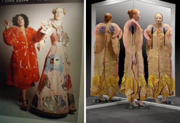 Fong Leng en Mathilde Willink jurken