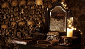 Halloween AirBnB Parijs Catacomben