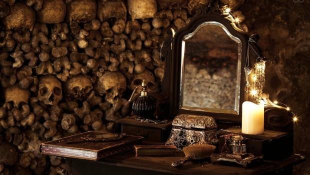 Halloween AirBnB Parijs Catacomben