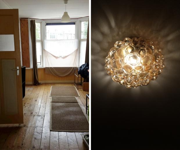 Huisontruiming Rotterdam lamp