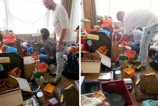 Huisontruiming Rotterdam spullen uitzoeken