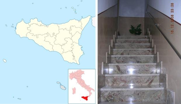 Italiaans huis te koop trapgat