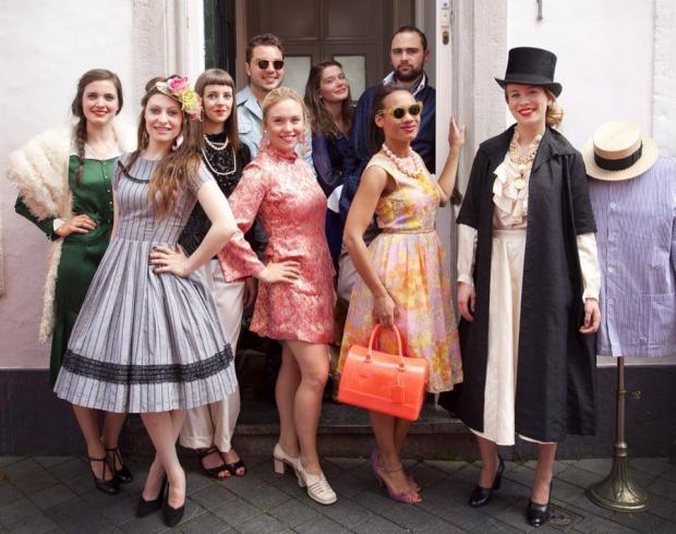 Kerstmarkt Maastricht vintage kleding