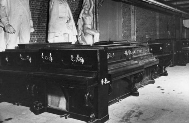Lévitan warenhuis piano's oorlog nazi's