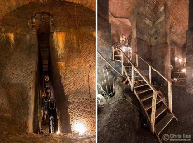 Liverpool tunnels graven