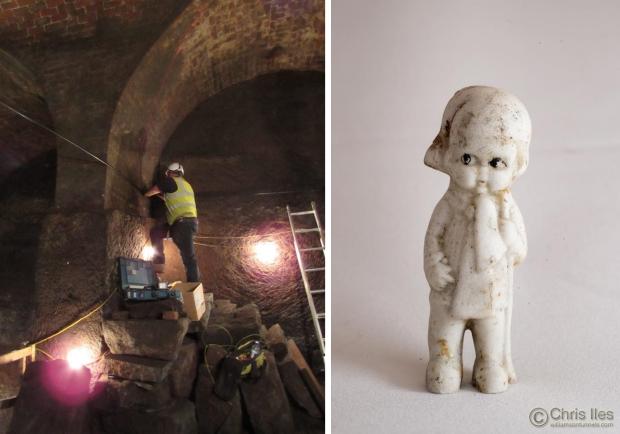 Liverpool tunnels popje
