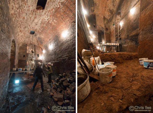 Liverpool tunnels team vrijwilligers