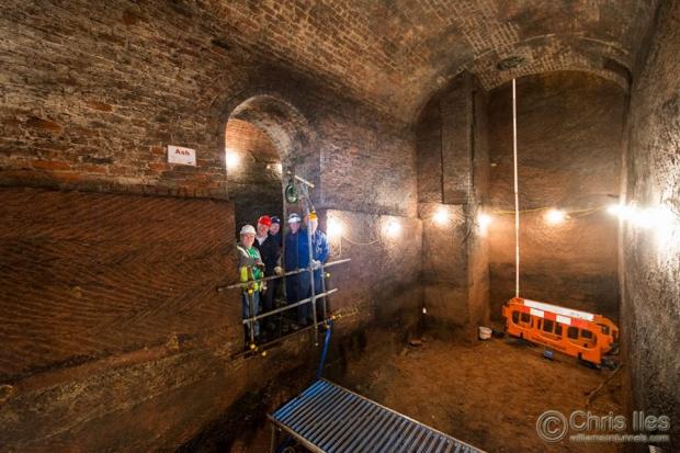 Liverpool tunnels trap
