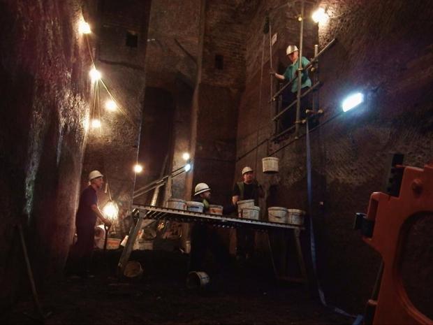 Liverpool tunnels uitgraven