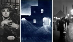 Fotojagen in het holst van de nacht