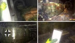 Zijn dit de eerste foto's van de beruchte nazitrein?