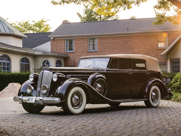 Packard oldtimer veiling go with the vlo