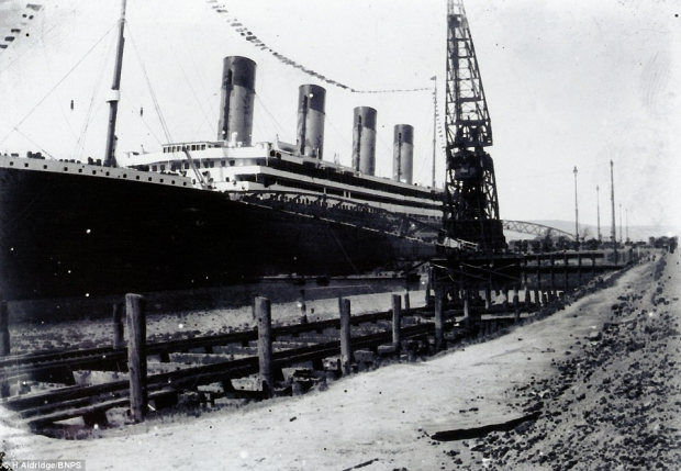 RMS Olympic onbekende foto veiling go with the vlo