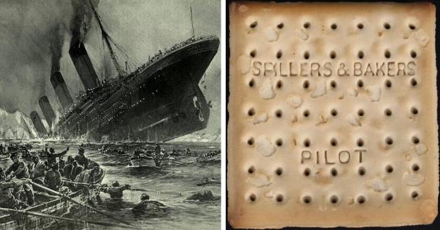 Titanic biscuit veiling