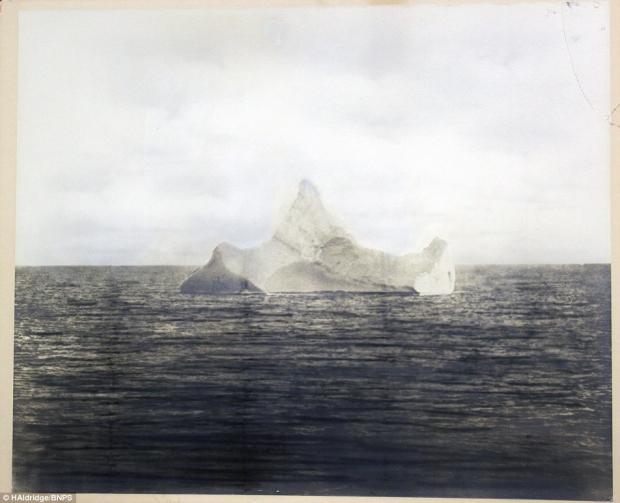 Titanic ijsberg veiling
