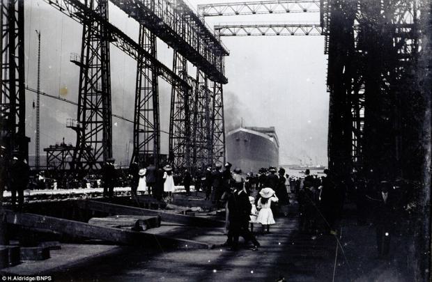 Titanic tewaterlating schip