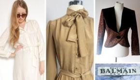 Balmain vintage shoppen