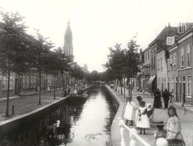 Delft Vlamingstraat Vermeer