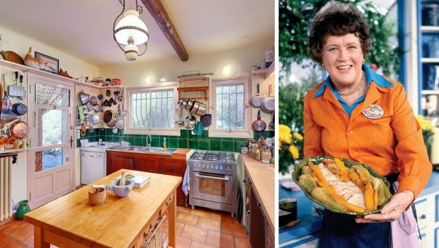 Julia Child huis te koop banner