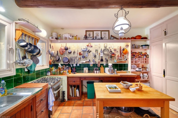 Julia Child keuken huis te koop