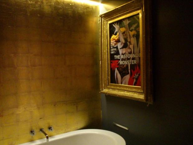 Londen huis openbaar toilet badkamer