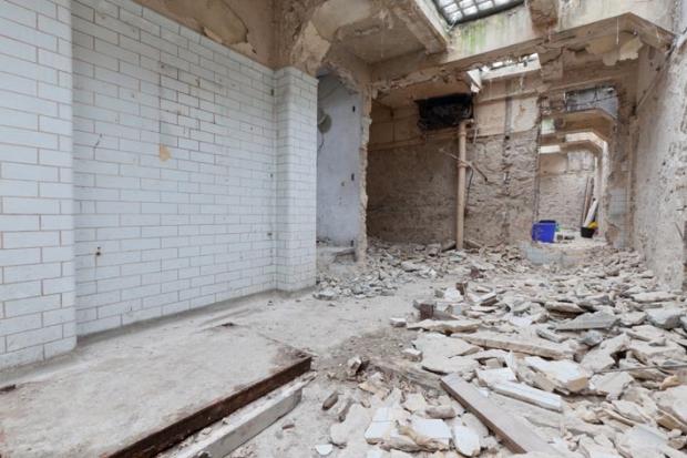 Londen ondergrondse toiletten woning transformatie verbouwing