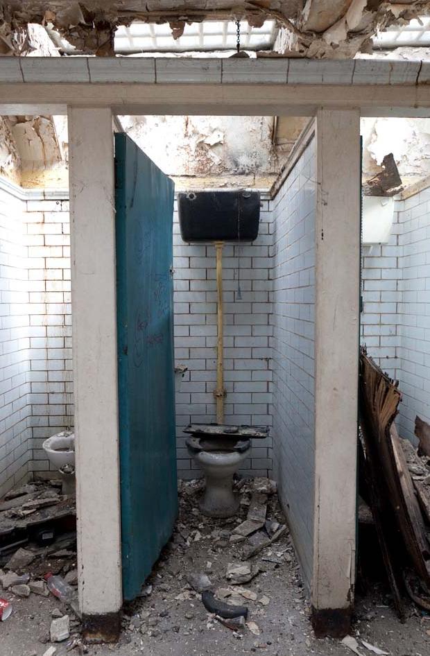 Londen ondergrondse toiletten woning