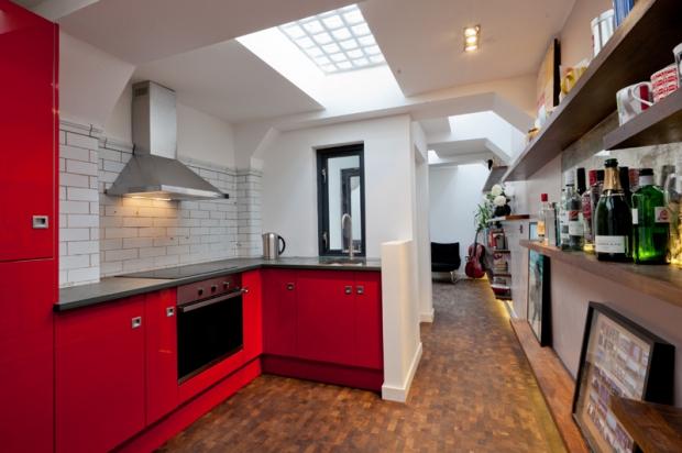 Londen openbaar toilet woning keuken
