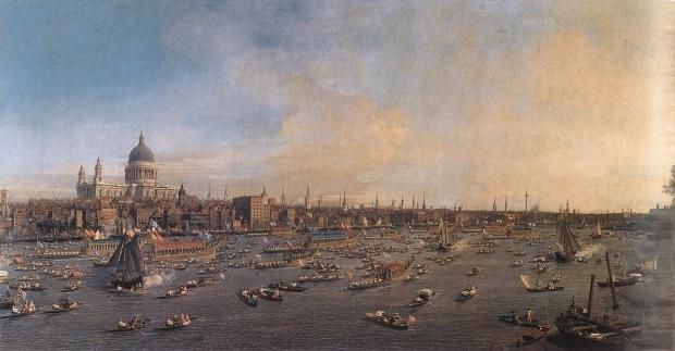 Londen schilderij Canaletto