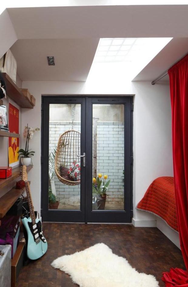 Londen toiletten gitaar slaapkamer