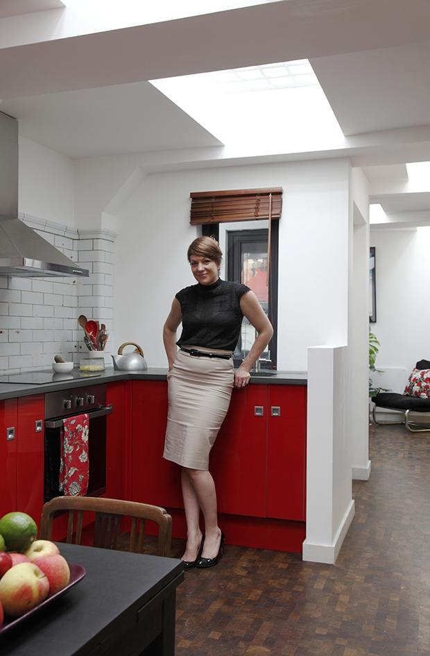 Londen toiletten keuken Laura Clark verbouwing