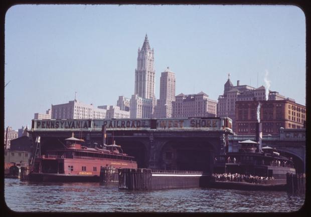 New York jaren veertig Manhattan