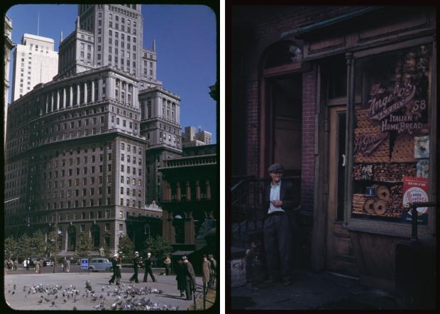 New York jaren veertig bakkerij