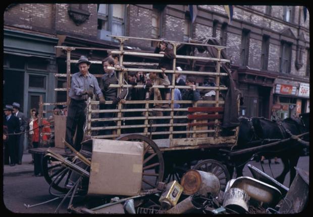 New York jaren veertig kar