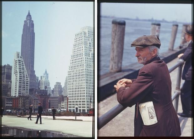 New York jaren veertig mannen torens