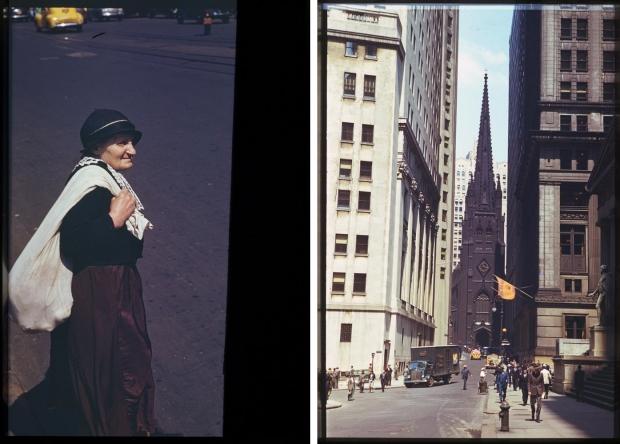 New York jaren veertig vrouw en kerk