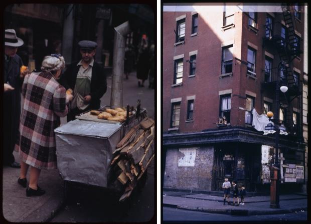 New York jaren veertig vrouw