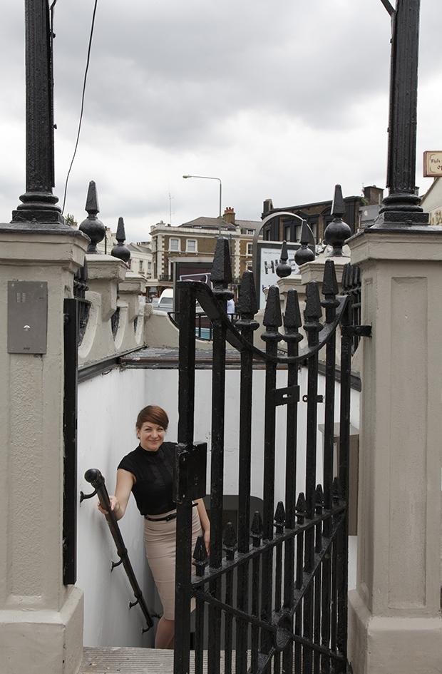 Openbaar toilet Londen Laura Clark