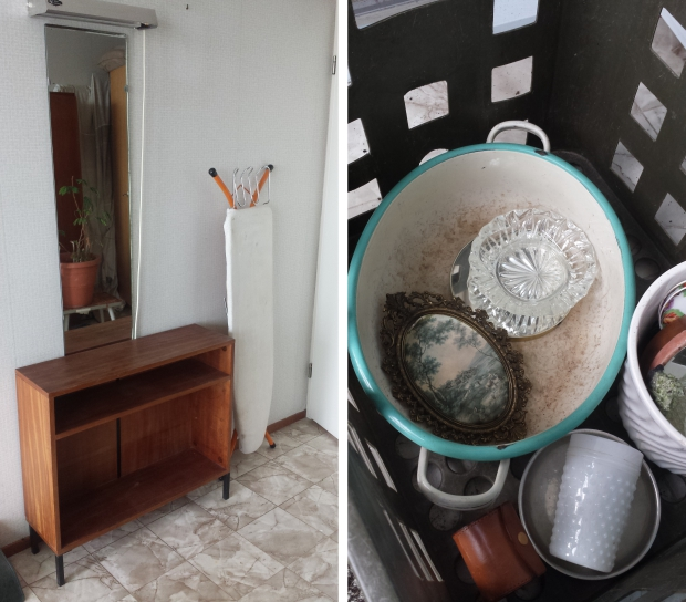 Rotterdam huisontruiming kaptafel en kristal